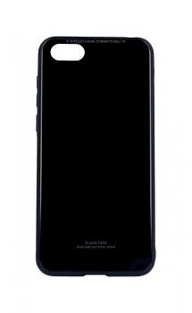 Zadní pevný kryt GLASS na Honor 7S černý