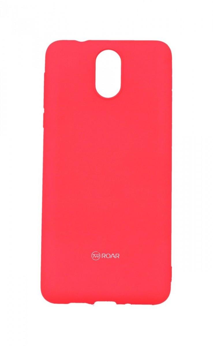 Kryt Roar Nokia 3.1 silikon růžový 39133 (pouzdro neboli obal na mobil Nokia 3.1)