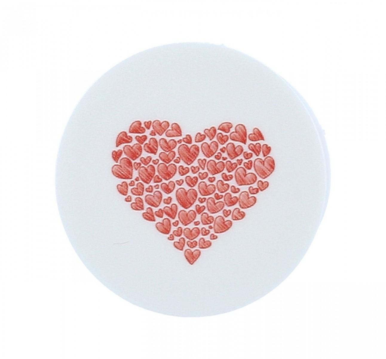 Držák na mobil TopQ PopSocket Red Hearts 39150