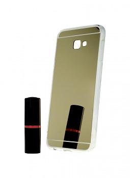 Zadní zrcátkový kryt na Samsung J4+ silikon zlatý