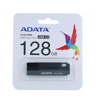 Flash disk ADATA S102 Pro 128GB šedý