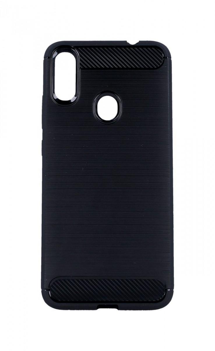 Kryt TopQ Xiaomi Redmi Note 7 silikon černý 39610 (pouzdro neboli obal na mobil Xiaomi Redmi Note 7)