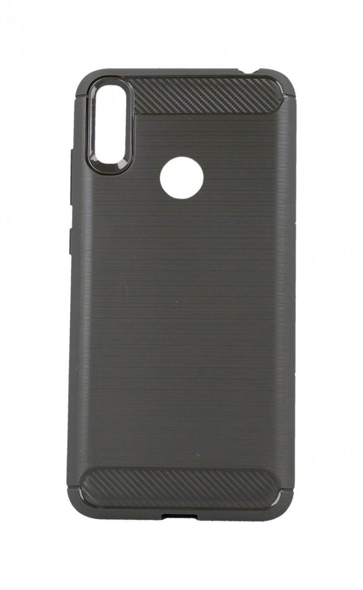 Kryt TopQ Huawei Y7 2019 silikon šedý 39613 (pouzdro neboli obal na mobil Huawei Y7 2019)