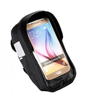 Pouzdro Roswheel Sahoo pro mobilní telefon na kolo černé 5,5''