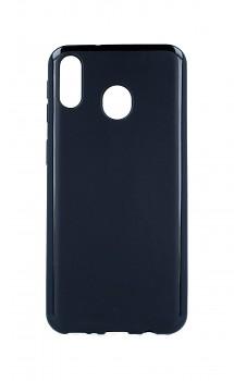 Zadní silikonový kryt na Samsung M20 černý matný