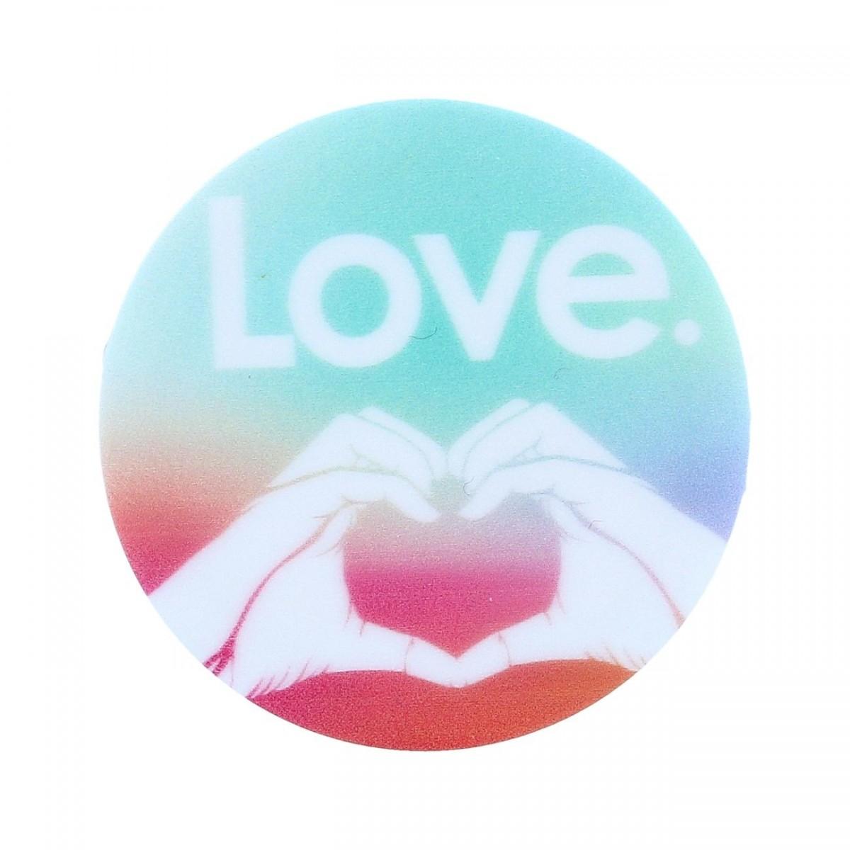 Držák na mobil TopQ PopSocket Love 40045