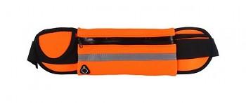 Sportovní pouzdro kolem pasu UNIVERSAL FANNY oranžové