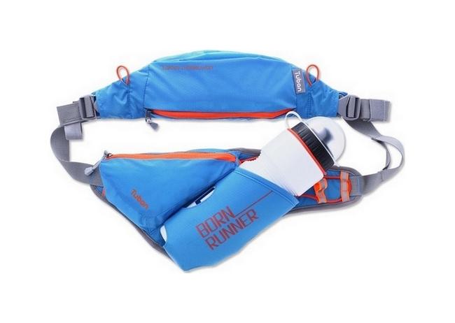 Sportovní pouzdro kolem pasu Tuban UNIVERSAL BOTTLE modré 40088 (sportovní obal neboli kryt)