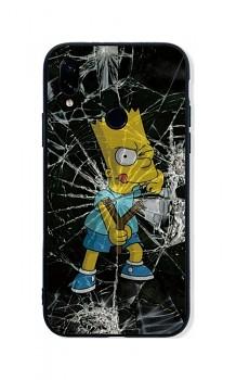 Zadní pevný kryt LUXURY na Xiaomi Redmi Note 7 Bart Simpson