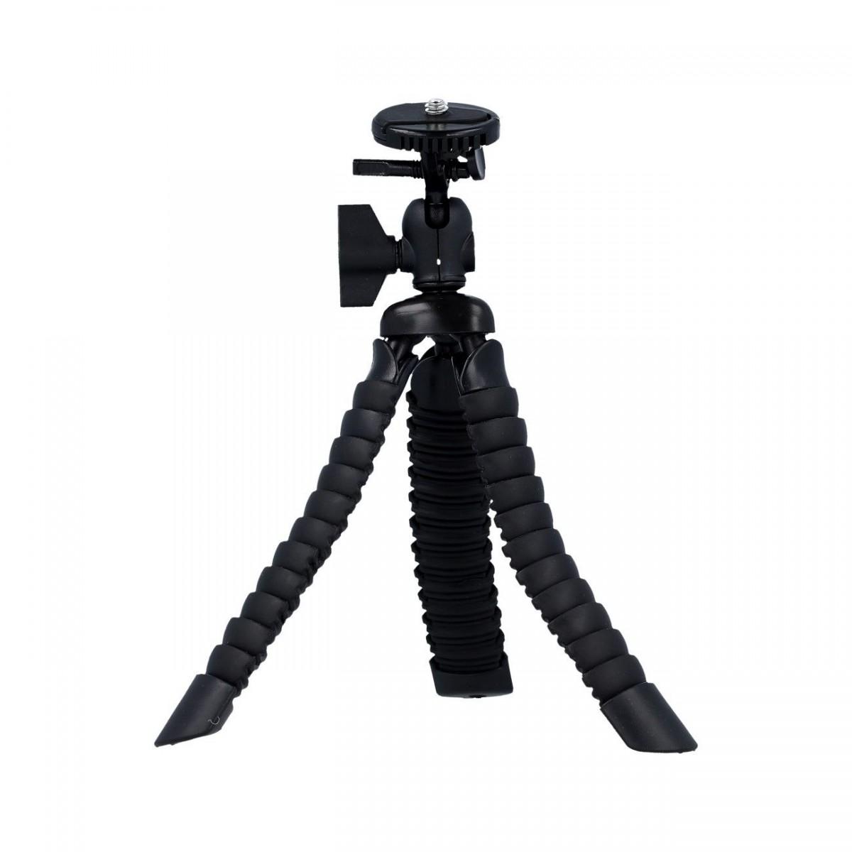 Stativ pro mobilní telefon TopQ flexibilní Mini černý 40704