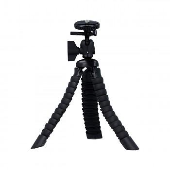 Stativ pro mobilní telefon flexibilní Mini černý