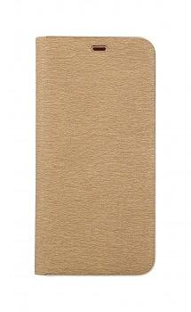 Knížkové pouzdro Luna Book na Samsung A9 zlaté