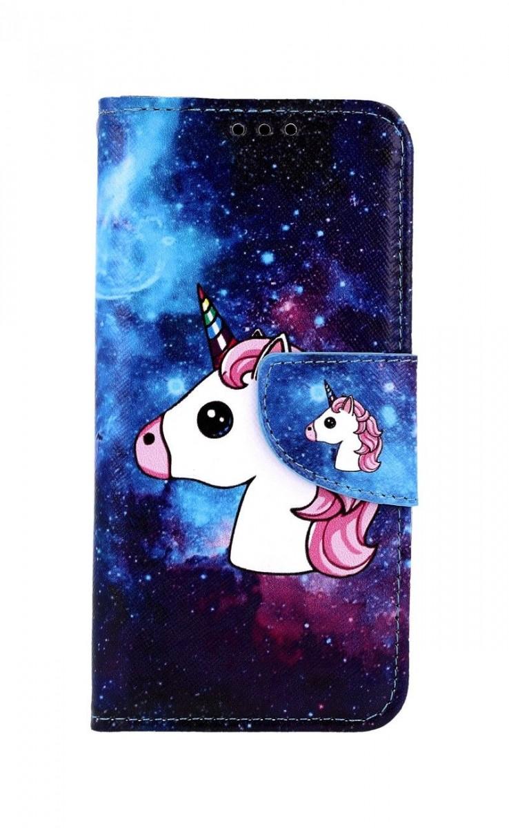 Knížkové pouzdro na Samsung M20 Space Unicorn