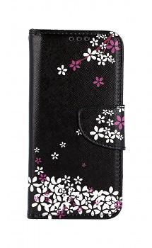 Knížkové pouzdro na Samsung A40 Květy sakury