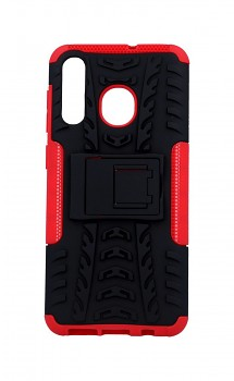 Ultra odolný zadní kryt na Samsung A50 červený