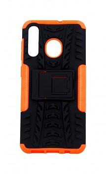 Ultra odolný zadní kryt na Samsung A50 oranžový
