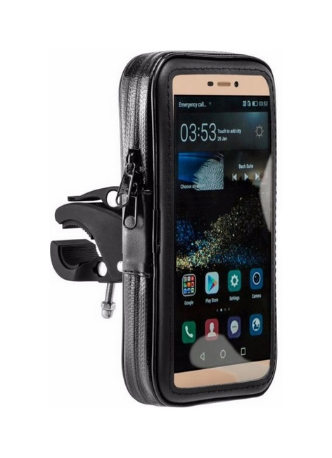 Držák na mobil TopQ na motocykl / skútr Mount XL černý 41275