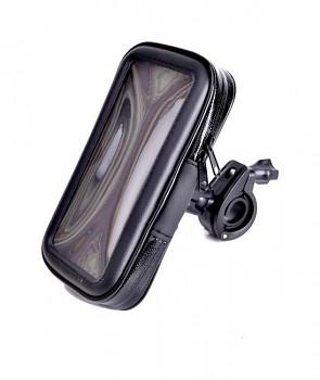 Držák na mobil na motocykl / skútr Outdoor M černý