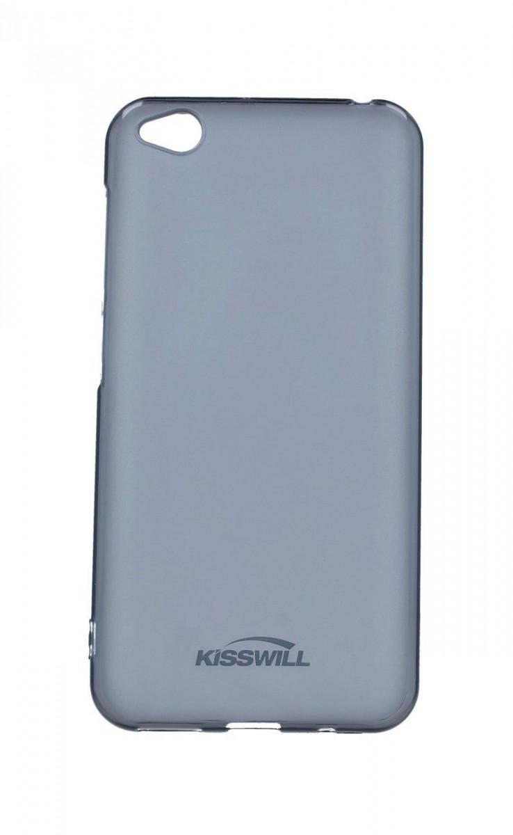 Kryt KISSWILL Xiaomi Redmi Go silikon tmavý 41416 (pouzdro neboli obal na Xiaomi Redmi Go)