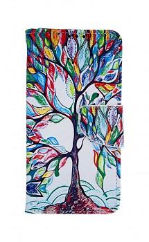 Knížkové pouzdro na Huawei P30 Lite Barevný strom