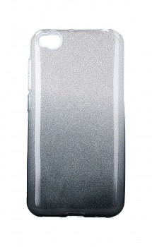 Zadní pevný kryt TopQ na Xiaomi Redmi Go glitter stříbrno-černý