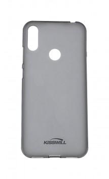 Zadní silikonový kryt KISSWILL na Huawei Y6 2019 tmavý