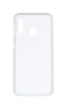 Zadní silikonový kryt na Samsung A20e 2 mm průhledný