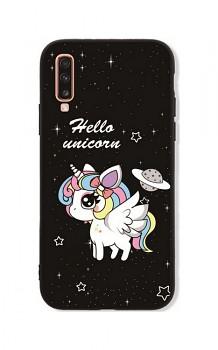Zadní pevný kryt LUXURY na Samsung A70 Unicorn