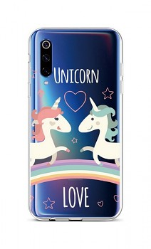 Zadní silikonový kryt na Xiaomi Mi 9 Unicorn Love