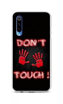 Zadní silikonový kryt na Xiaomi Mi 9 Don´t Touch Red