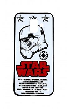 Zadní 3D silikonový kryt na Samsung A6 Star Wars