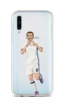 Zadní silikonový kryt na Samsung A50 fotbalista 2