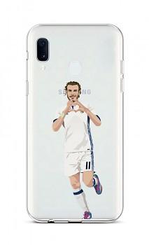 Zadní silikonový kryt na Samsung A40 fotbalista 2