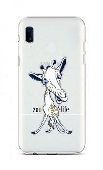 Zadní silikonový kryt na Samsung A20e Zoo Life