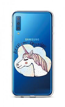 Zadní silikonový kryt na Samsung A7 Dreaming
