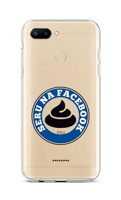 Kryt TopQ Xiaomi Redmi 6 silikon Facebook 42885 (pouzdro neboli obal na mobil Xiaomi Redmi 6)