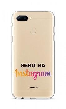 Zadní silikonový kryt na Xiaomi Redmi 6 Instagram