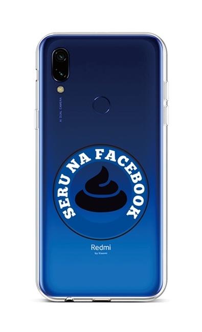 Kryt TopQ Xiaomi Redmi 7 silikon Facebook 42913 (pouzdro neboli obal na mobil Xiaomi Redmi 7)