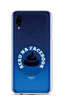 Zadní silikonový kryt na Xiaomi Redmi 7 Facebook