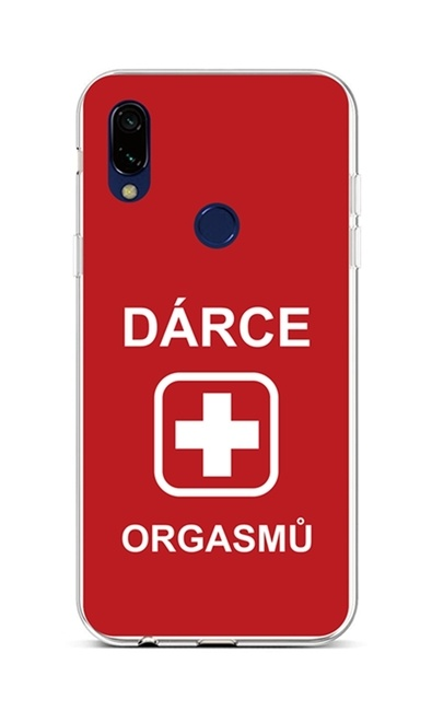 Kryt TopQ Xiaomi Redmi 7 silikon Dárce 42915 (pouzdro neboli obal na mobil Xiaomi Redmi 7)