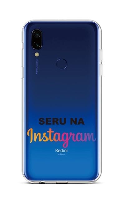 Kryt TopQ Xiaomi Redmi 7 silikon Instagram 42917 (pouzdro neboli obal na mobil Xiaomi Redmi 7)