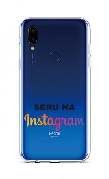 Zadní silikonový kryt na Xiaomi Redmi 7 Instagram