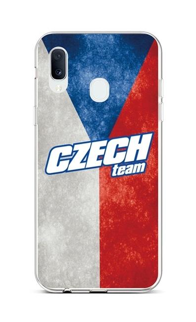 Kryt TopQ Samsung A20e silikon Czech Team 42930 (pouzdro neboli obal na mobil Samsung A20e)