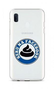 Zadní silikonový kryt na Samsung A20e Facebook