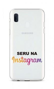 Zadní silikonový kryt na Samsung A20e Instagram