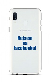 Zadní silikonový kryt na Samsung A20e Nejsem na Facebooku
