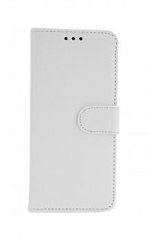 Knížkové pouzdro na Samsung A20e bílé s přezkou