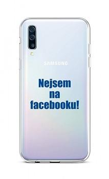 Zadní silikonový kryt na Samsung A50 Nejsem na Facebooku