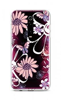 Zadní silikonový kryt na Xiaomi Mi 9T Flowers