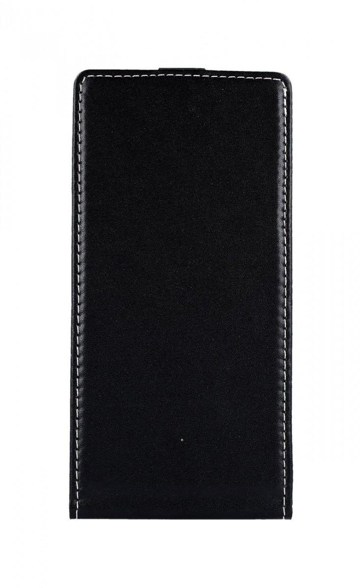 Pouzdro TopQ Slim Flexi Huawei P Smart Z flipové černé 43029 (kryt neboli obal na mobil Huawei P Smart Z)